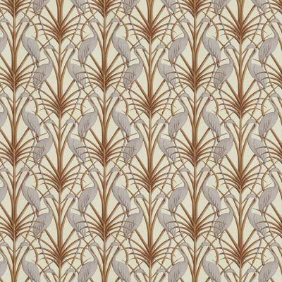 Nouveau Heron Cream Fabric