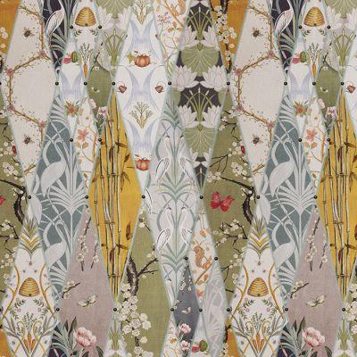 Nouveau Wallpaper Fabric