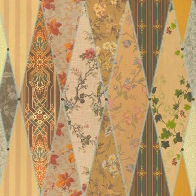 Wallpaper Museum Upholstery Fabric